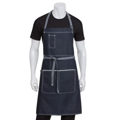 Chef Works® Bronx Bib Apron in Blue