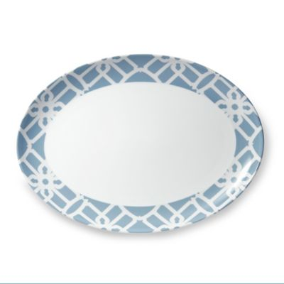 B by Brandie™ Truman Oval Platter in Grey