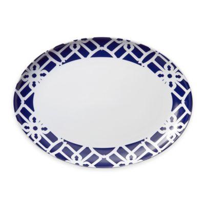 B by Brandie™ Truman Oval Platter in Navy
