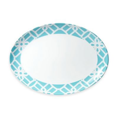 B by Brandie™ Truman Oval Platter in Turquoise