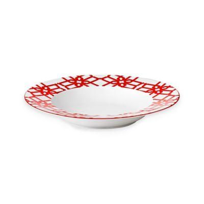 B by Brandie™ Truman Rimmed Bowl in Red