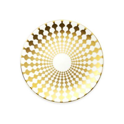 B by Brandie™ Grande Zelda Salad Plate in Gold