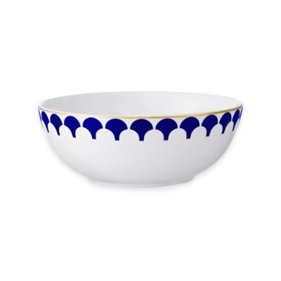 B by Brandie™ Grande Zelda Small Bowl in Navy/Gold