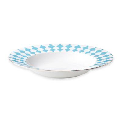 B by Brandie™ Grande Zelda Rimmed Bowl in Turquoise/Gold
