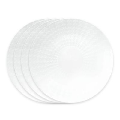 B by Brandie™ Grande Zelda Salad Plates in White (Set of 4)