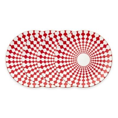 Red Plate Sets