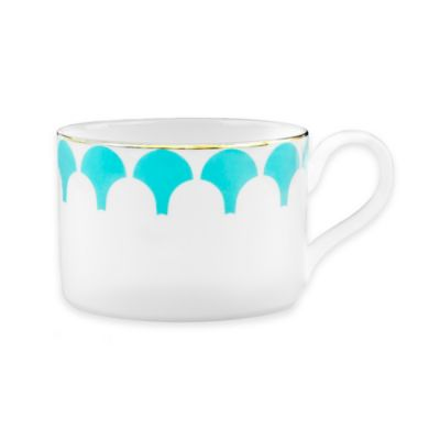 B by Brandie™ Grande Zelda Teacup in Turquoise/Gold