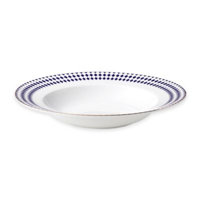 B by Brandie™ Grande Hutton Rimmed Bowl in Navy/Gold