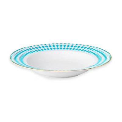 B by Brandie™ Grande Hutton Rimmed Bowl in Turquoise/Gold