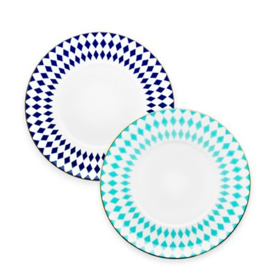 B by Brandie™ Grande Hutton Saucer in Turquoise/Gold