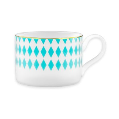 B by Brandie™ Grande Hutton Teacup in Turquoise/Gold