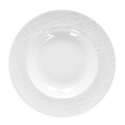 B by Brandie™ Whitney Rimmed Bowl in White