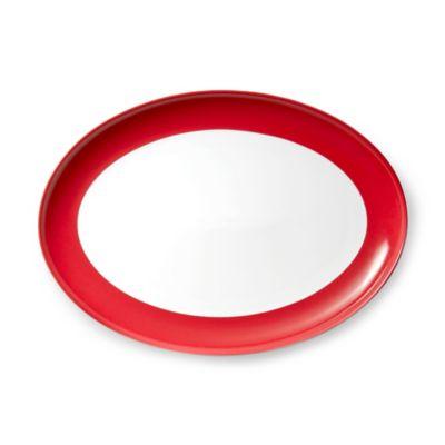 B by Brandie™ Vanderbilt Oval Platter in Red