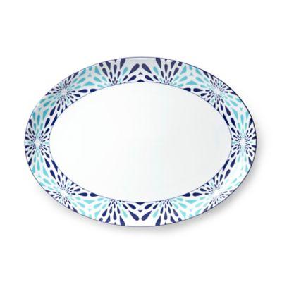 Gray White Platter
