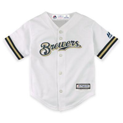 MLB Milwaukee Brewers Newborn Replica Jersey