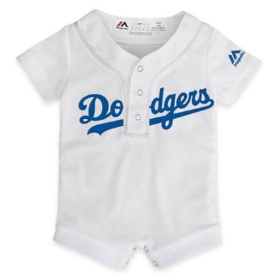 MLB Los Angeles Dodgers Newborn Jersey Romper