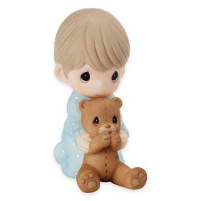 Precious Moments® Boy Praying With Teddy Bear Figurine