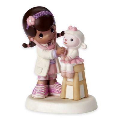 Precious Moments® Disney® Friends Listen to Your Heart Girl as Doc McStuffins Figurine