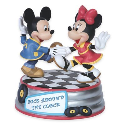 "Precious Moments® Disney® Showcase ""Rock Around the Clock"" Musical Figurine"