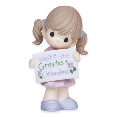 "Precious Moments® ""You're the Greatest Grandma"" Girl Figurine"