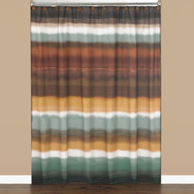 Striped Bath Shower Curtains