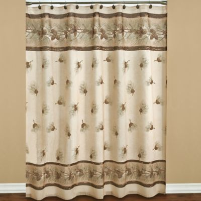 70 x 70 Fabric Shower Curtain