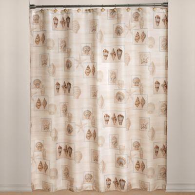 Sarasota Fabric Shower Curtain