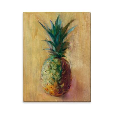 Pineapples V Canvas Wall Art