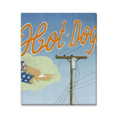 Fourth of July Canvas Wall Art