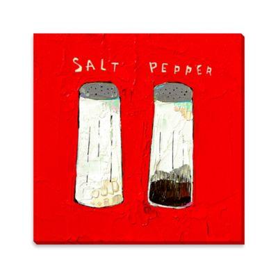 Salt N Pepper Canvas Wall Art