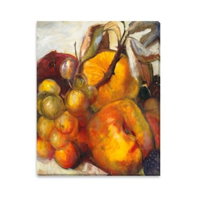 A Bountiful Harvest Canvas Wall Art