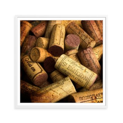 Fine Wine Corks Framed Photographic Print