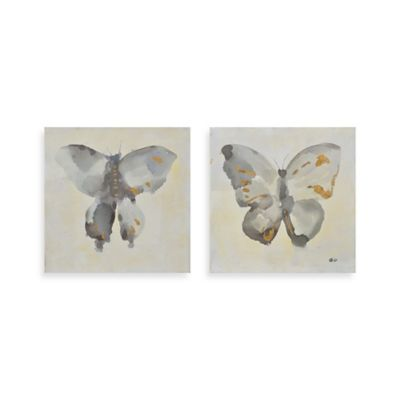 Ren-Wil Fortune I and II 16-Inch x 16-Inch Wall Art (Set of 2)