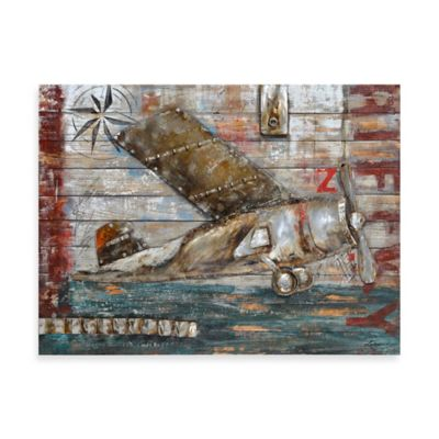 Ren-Wil Air Avondale 48-Inch x 36-Inch Wall Art
