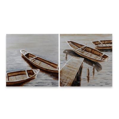 Ren-Wil Tranquility Canvas Wall Art (Set of 2)