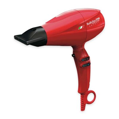 BaByliss Pro Volare V2 Mid-Size Hair Dryer in Red