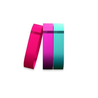 Fitbit™ Flex™ Small Wristband Accessory 3-Pack in Violet/Teal/Pink