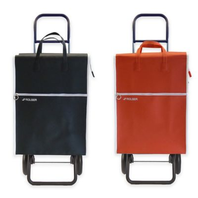 Rolser Lider Convertible Shopping Cart in Red