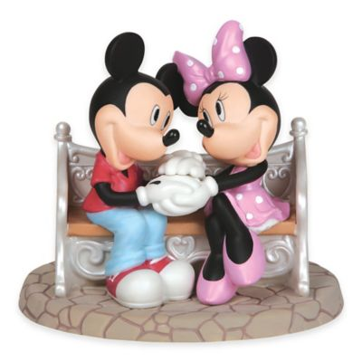 Precious Moments® Disney® Showcase Every Day is Sweeter with You Mickey and Minnie Figurine