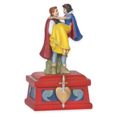 Precious Moments® Disney® Showcase Prince Charming and Snow White Musical Figurine