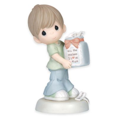 "Precious Moments® ""All the Reasons I Love Mom"" Boy Figurine"
