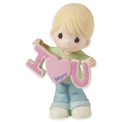"Precious Moments® ""Love You More"" Boy Figurine"