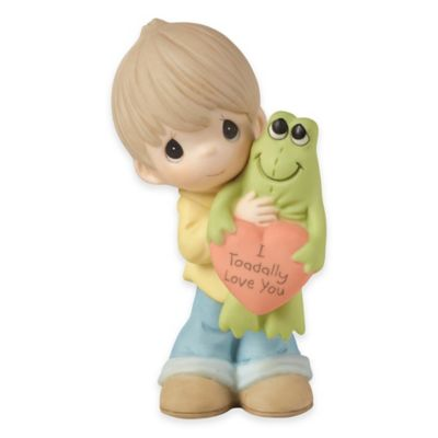 "Precious Moments® ""I Toadally Love You"" Boy Figurine"