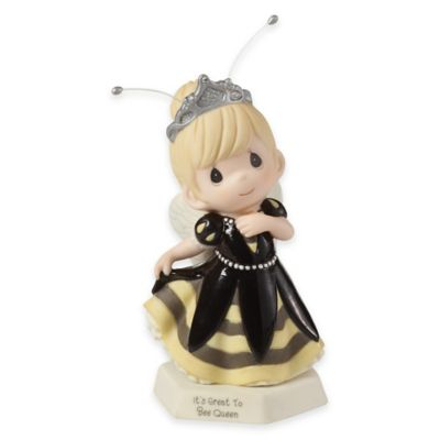 "Precious Moments® ""It's Great to Bee Queen"" Girl Figurine"