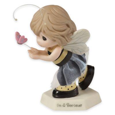 "Precious Moments® ""I'm a Bee-liever"" Girl Figurine"