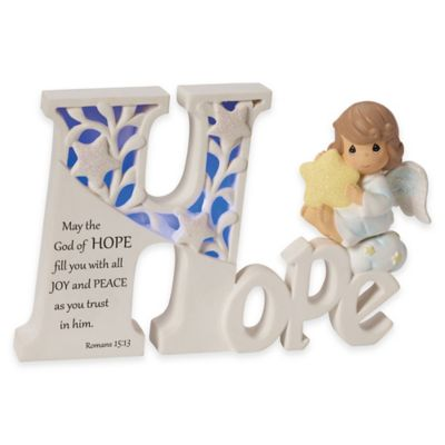 "Precious Moments® ""Hope"" Angel LED Plaque"