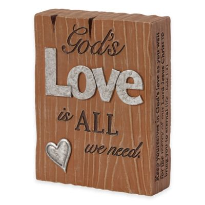 "Precious Moments® Pray it Forward ""God's Love is all Around"" Plaque"