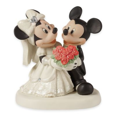 Precious Moments® Disney® Showcase You Are My Fairytale Mickey and Minnie Figurine