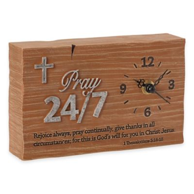 "Precious Moments® Pray it Forward ""Pray 24/7"" Clock"