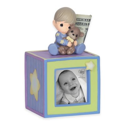 Precious Moments® Baby Boy Photo Bank
